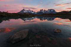 Wind Shapers (Leonardo Papèra Photography) Tags: patagonia chile cile torres del paine sunrise alba lake reflections reflection wilderness wild nature landscapes outdoor adventure
