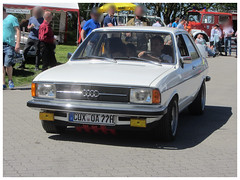 Audi 80 B1, 1977 (v8dub) Tags: audi 80 b 1 1977 allemagne deutschland germany german niedersachsen debstedt pkw voiture car wagen worldcars auto automobile automotive youngtimer old oldtimer oldcar klassik classic collector