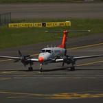 DGAC Direction Générale de l'Aviation Civile F-HNAV Beech Super King Air 200GT cn/BY-175 @ EBBR / BRU 05-05-2018 thumbnail