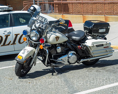 Hoboken Police Motorcycle, Hoboken, New Jersey (jag9889) Tags: 2018 20180521 auto automobile bike car gardenstate hd harley harleydavidson hoboken hog hudsoncounty motorbike motorcycle nj newjersey outdoor patrol policecar policedepartment policepatrolcar policestation transportation usa unitedstates unitedstatesofamerica vehicle jag9889