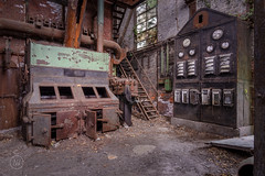 Mr. Electricity (nickw_photography) Tags: urban exploring urbex decay old abandoned lost industry industrial