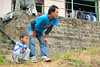Waiting. Mon, Nagaland, India (n1ck fr0st) Tags: family dad son wait mon nagaland india