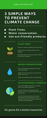3 simple ways to prevent climate change (leaftrendecoproducts) Tags: amazon onlineshopping shopping arecaplates weddingparties parties ecofriendly trending