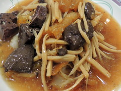 Blood soup (markb120) Tags: food meal eating fare meat feed nutrition diet nourishment