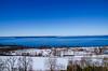 Rupu's clk-114 (rupu_ralf) Tags: gränna sweden jönköping snowland lake city bluesy red house wooden bridge trees sigma 1750 f28