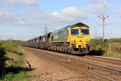 66551 - 460D - 2018-04-26 (BillyGoat75) Tags: class66 66551 freightliner freight railway scunthorpecoalplantimmingh robinsoncrossing southkillingholme northlincolnshire 460d
