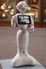 """""""Pepper"""", The Robot Docent (Itinerant Wanderer) Tags: washingtondc smithsonian castle"""