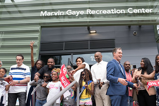 May 5, 2018 Marvin Gaye Recreation Center Ribbon Cutting