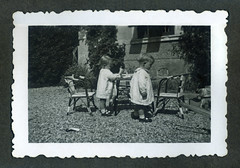 i gemelli a Vicenza - maggio 1936 (dindolina) Tags: photo fotografia blackandwhite bw biancoenero monochrome monocromo vintage family famiglia history storia vignato italy italia veneto vicenza 1930s annitrenta thirties 1936