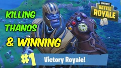 STRUGGLE TO KILL THANOS - BACK ON FORTNITE!! XBOX ONE GAMEPLAY (itsDEEPEZ) Tags: struggle to kill thanos back on fortnite xbox one gameplay