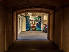 The arch (pilot3ddd) Tags: stpetersburg arch graffiti yard olympusomdem5markii olympusmzuiko40150mm