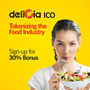 Delicia : Decentralized Food Network connecting Food retailers and consumers (deliciateam) Tags: ico food cryptocurrency delicia bitcoin