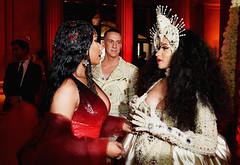 beigency:  Cardi B and Nicki Minaj at the Met Gala 2018 (cnkguy4) Tags: nickiminaj