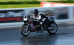 Suzuki_8622 (Fast an' Bulbous) Tags: drag race bike track biker motorcycle fast speed power acceleration santa pod nikon