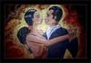 Danseurs de Tango (Jean-Louis DUMAS) Tags: tango danseurs danseuse danse portrait portraiture art artist artistic artistique peinture peintre couleur colors color glamour