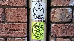 Tubby1 & Sunfigo... (colourourcity) Tags: colourourcity originalcontent streetart streetartaustralia streetartnow graffiti melbourne burncity awesome nofilters streetartmelbourne graffitimelbourne laneways tubby1 cooklan sunfigo slaps stickerart