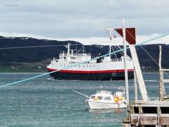 """""""Røtinn"""" (OlafHorsevik) Tags: røtinn hurtigruten reserveferge toppsundet stornes bjørnerå ferge ferga ferry ferja ferje grytøy"""