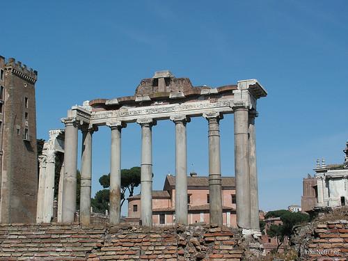 Римський форум, Рим, Італія InterNetri Italy 382