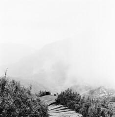 坐看雲起時 (GrayCat50) Tags: taiwan mountain hasselblad 80mm28 landscape bw