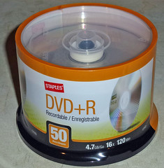 Staples DVD+R Disks 5-16-18 (1) (Photo Nut 2011) Tags: dvd