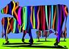 Die Schwarzbunten (Norbert Cieslik ) Tags: kuh kühe bunte schwarzbunt cow