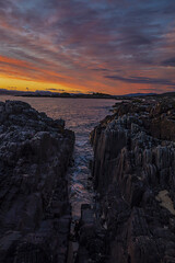 Arisaig Sunset (Steve Graham42) Tags: arisaig sunset scotland mallaig westcoast red orange yellow blue sea atlanticocean ocean water landscape seascape sexy hot naked topless nude