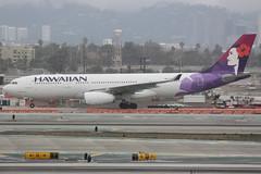 N380HA (dbind747438) Tags: hawaiian airlines airbus a330200 n380ha los angeles airport