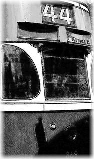 Liverpool tram No. 869