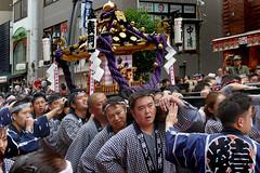 Asakusa Mikoshi.Japan. (Bernard Spragg) Tags: asahusamikoshi japan tokyo festival inokumahamanari hinokumatakenari asia travel lumix sanjafestival shinto soe lumixfz1000 fz1000