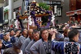 Asakusa Mikoshi.Japan.