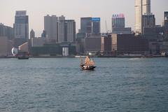 Junk 帆船 (snapcat101) Tags: p4081862 hongkong victoriaharbour 維多利亞港