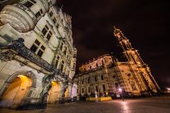 Dresden2018_063 (schulzharri) Tags: deutschland germany night nacht europe europa city town stadt old dark lon term langzeit outside ausen drausen