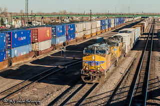 UP 5849   GE AC44CWCTE   UP Laramie Yard