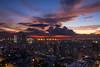 Beautiful Aftermath (arbivi) Tags: sunset dusk cityscape urbanscape city lights manila philippines canon 60d tamron arbivi raymondviloria hdr