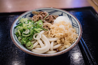 Soy Sauced Beef Udon.