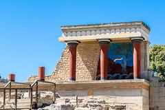 Knossos Palace Ruins (PhredKH) Tags: 70200mm abandoned ancientruins building canoneos7dmkii canonphotography crete ef70200mmf28lisiiusm fredknoxhooke fredkh greece greekisland islandofcrete knossos knossospalaceruins photosbyphredkh phredkh splendid travelphotography traveltocrete traveltogreece