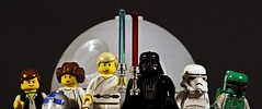 May the Fourth be with you (MCLegoboy) Tags: lego starwars maythe4thbewithyou maythefourthbewithyou starwarsday lukeskywalker darthvader princessleia r2d2 stormtrooper hansolo bobafett deathstar minifigure
