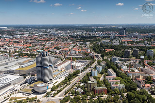Typically MUNICH: Panorama from Olympiaturm