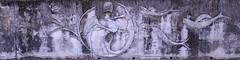 sur la faille tectonique (8pl) Tags: gravure pierre mur roche poisson représentation extérieur écriturechinoise taïwan faille failletectonique sismique déformations art décoration mural