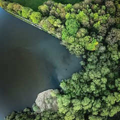 Worsbrough reservoir from the drone. (mastamark2050) Tags: woodland trees southyorkshire barnsley yorkshire water goprohero6 goprokarma karmadrone karma hero6 gopro worsbrough reservoir landscape photography drone