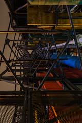 structure de Beaubourg (Rudy Pilarski) Tags: nikon tamron d7100 structure paris nuit night couleur perspective moderne color colour beaubourg france urbano urban urbain ville architecture architectura city abstrait abstract minimalisme minimal