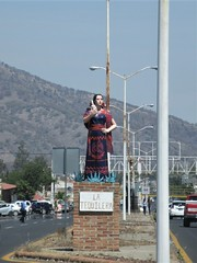 La Tequilera, statue on Highway 15, El Arenal, Mexico (Paul McClure DC) Tags: elarenal mexico jalisco apr2018 sign tequilacountry sculpture