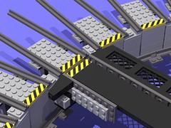 drehscheibe #2 (Dr Snotson) Tags: lego train eisenbahn idea idee turntable drehscheibe