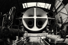 Stratosphere Chamber - Brooklands (258) (Malcolm Bull) Tags: include brooklands museum 20180505brooklands0258edited1web mono stratosphere chamber barnes wallis