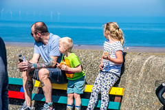 colourful family (Tony Shertila) Tags: wallasey england unitedkingdom europe britain merseyside newbrighton festival people promenade