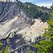 Rhyodacite lava & pumice-fall deposit (Holocene, ~7.8 to 7.9 ka; eastern flanks of Llao Rock, Crater Lake Caldera, Oregon, USA) 1