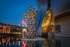 Tall Tree & The Eye - Anish Kapoor - Museo Guggenheim - Bilbao (grzegorzmielczarek) Tags: españa talltreetheeye anishkapoor baskenland bilbao bizkaia euskadi frankogehry guggenheimmuseum museoguggenheim spanien