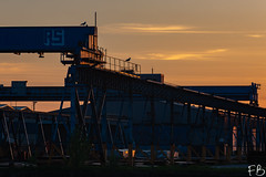 ArcelorMittal (frisiabonn) Tags: arcelormittal cranes steel mining construction cathcart quay wirral liverpool england uk britain marine mersey merseyside maritime outdoor birkenhead industrial dark sunset glow dusk
