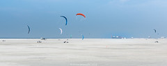 Wadden Sea National Park - Northern Germany-3 (A. Gosewehr) Tags: beach kite water fun actionsports kitebuggy stpeterording northsea waddenseanationalpark outdoorsports