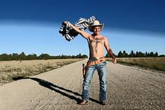 IMG_5106_Fotor Eric b (pv photos) Tags: cowboy horse wild west western arizona texas johnny eric sunset